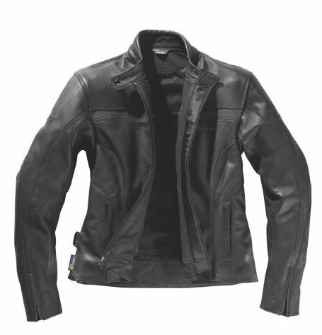 Veste femme moto en cuir MILES, Difi