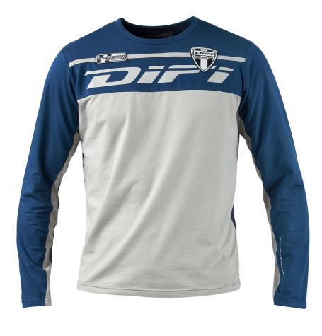 T-SHIRT marque DIFI Manches longues Bleu marine