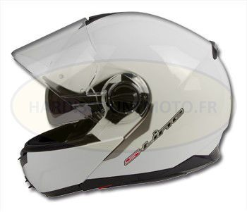 Casque moto modulable Summit IV S501 Blanc
