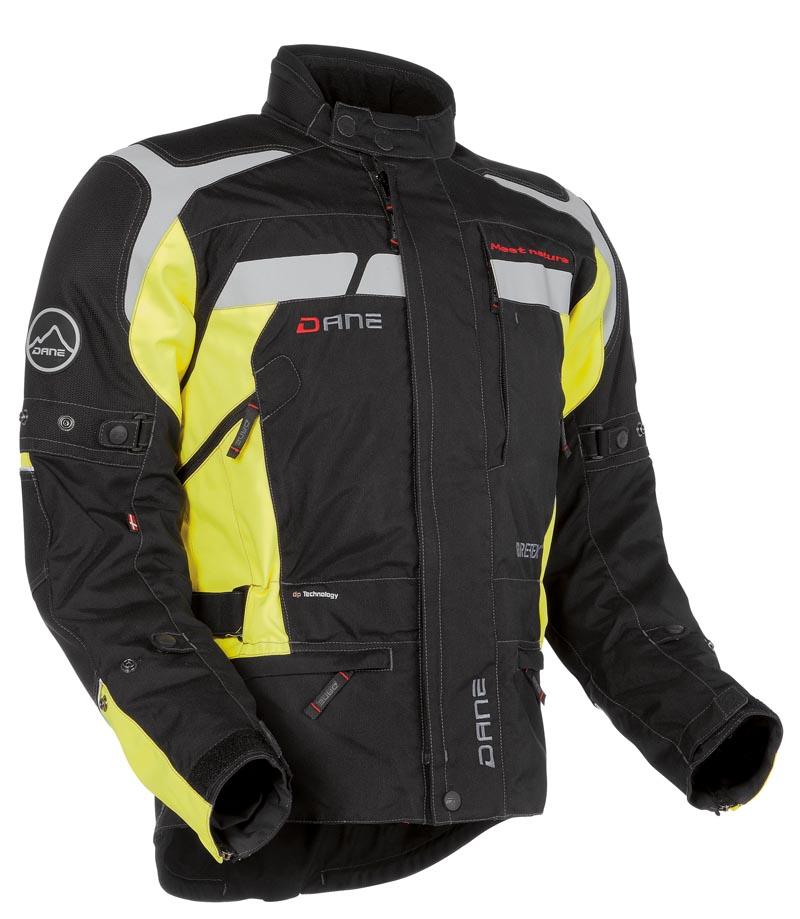 Veste GRINDSTED Gore-tex DANE - noir&jaune motobigstore