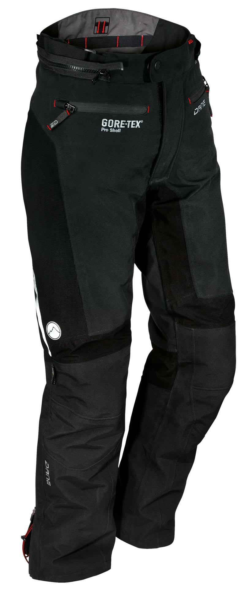 Pantalon Lyngby Gore-tex PRO - shell Noir - Dane motobigstore
