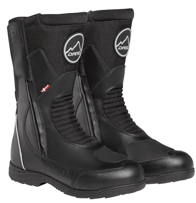 Bottes TORRING WP noir, marque DANE motobigstore