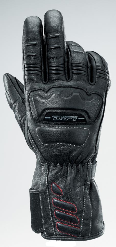 GANTS MOTOS Warrior noir, Difi motobigstore