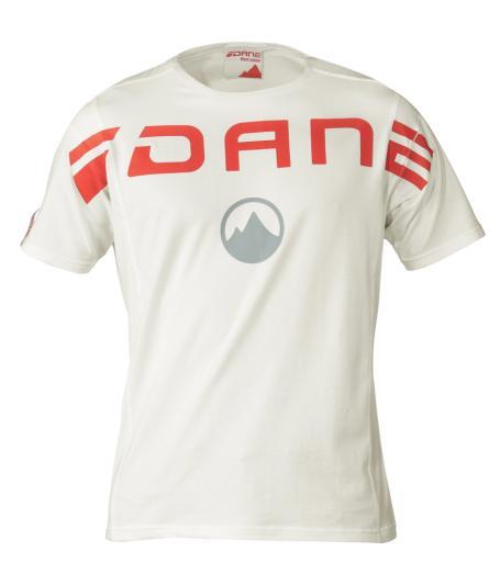 T-SHIRT Blanc - marque DANE motobigstore