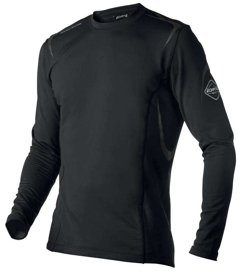 Sous-Vêtement T-shirt DANE Performance - Noir - Manche longue motobigstore