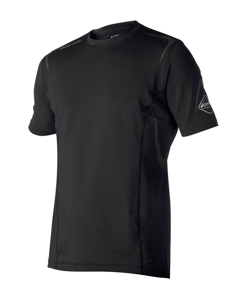 Sous-Vêtement T-shirt DANE Performance - Noir - Manches courtes motobigstore
