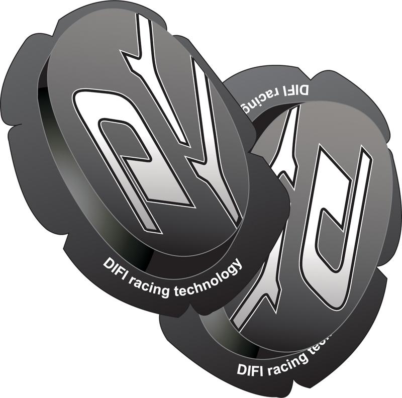 SLIDER Genoux - Kit Impact - DIFI - Noir motobigstore