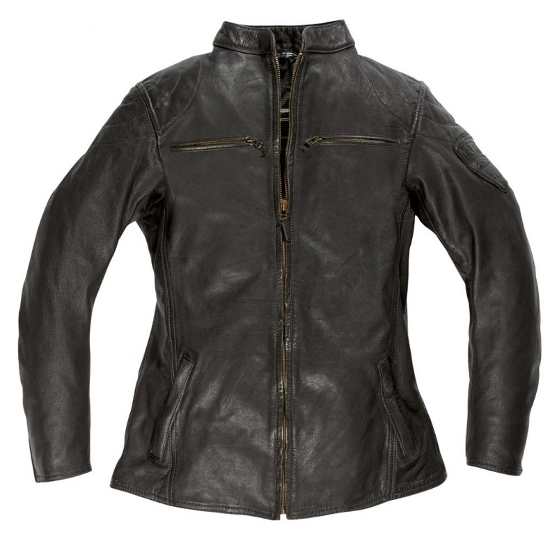Veste moto femme en cuir CHICA, Difi