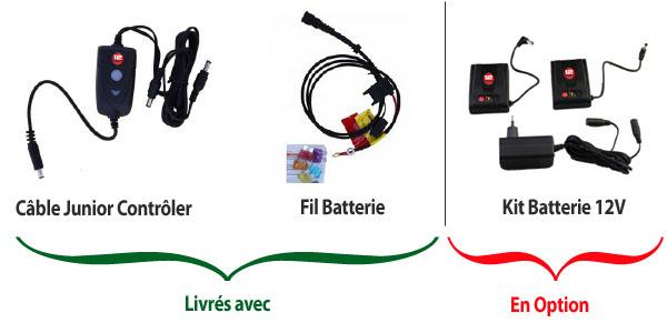 TEX12 - Gants chauffants Gerbing scooter ou quad 12V sans batterie - Image 3