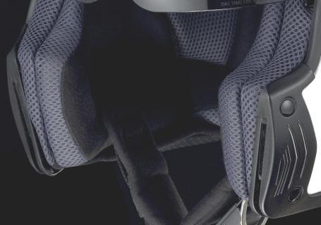 Joues intérieures BAYARD XP-40 Noir