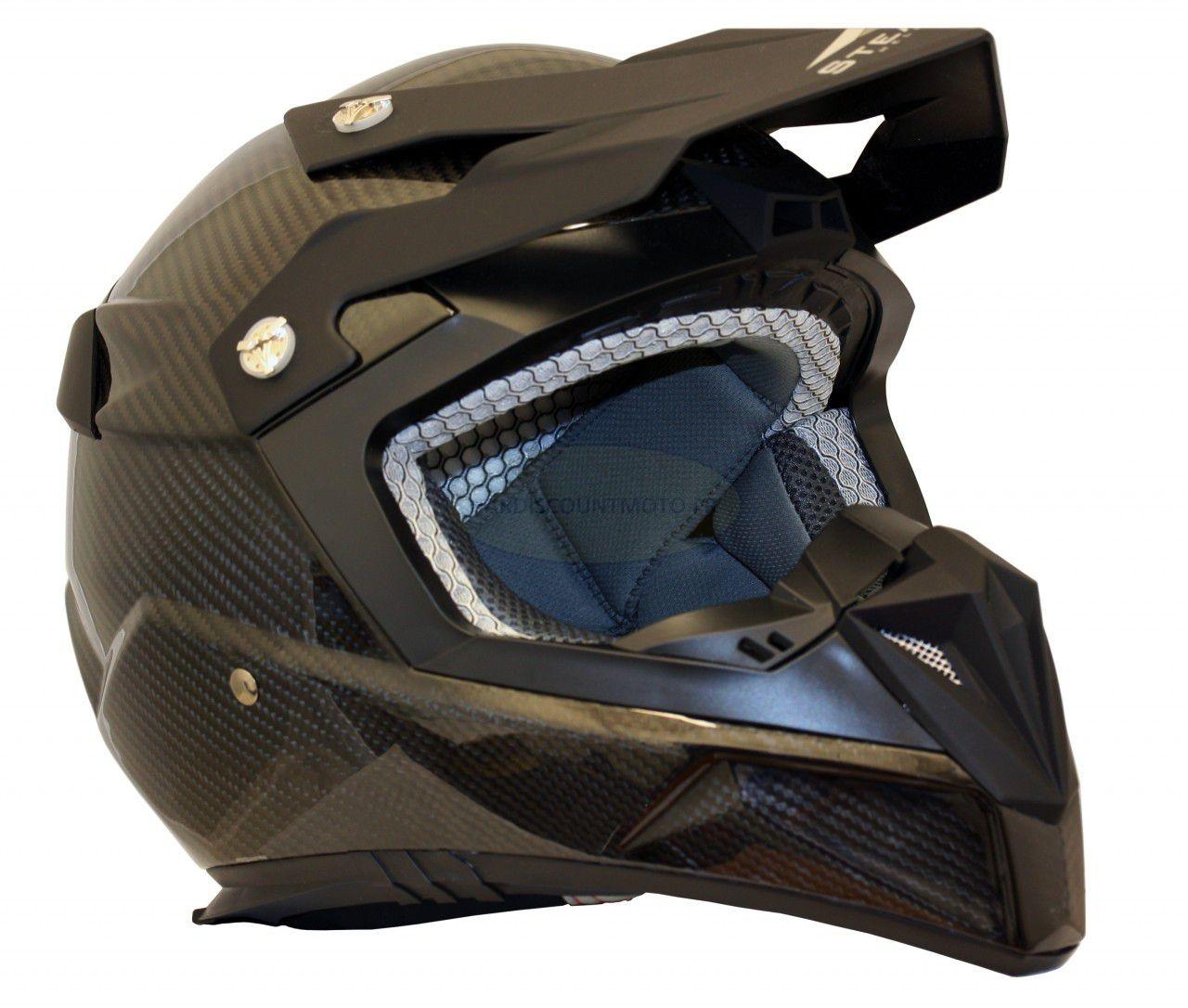 Casque Moto Cross S810 Carbone motobigstore