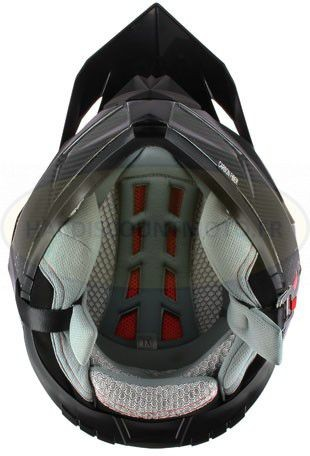 Casque Moto Cross S810 Carbone - Image 1