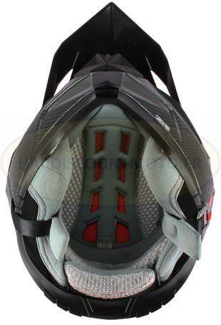 Casque Moto Cross S810 Carbone - Image 1