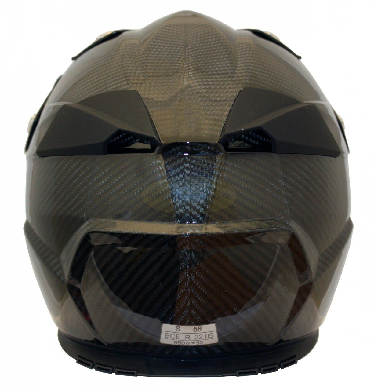 Casque Moto Cross S810 Carbone - Image 3