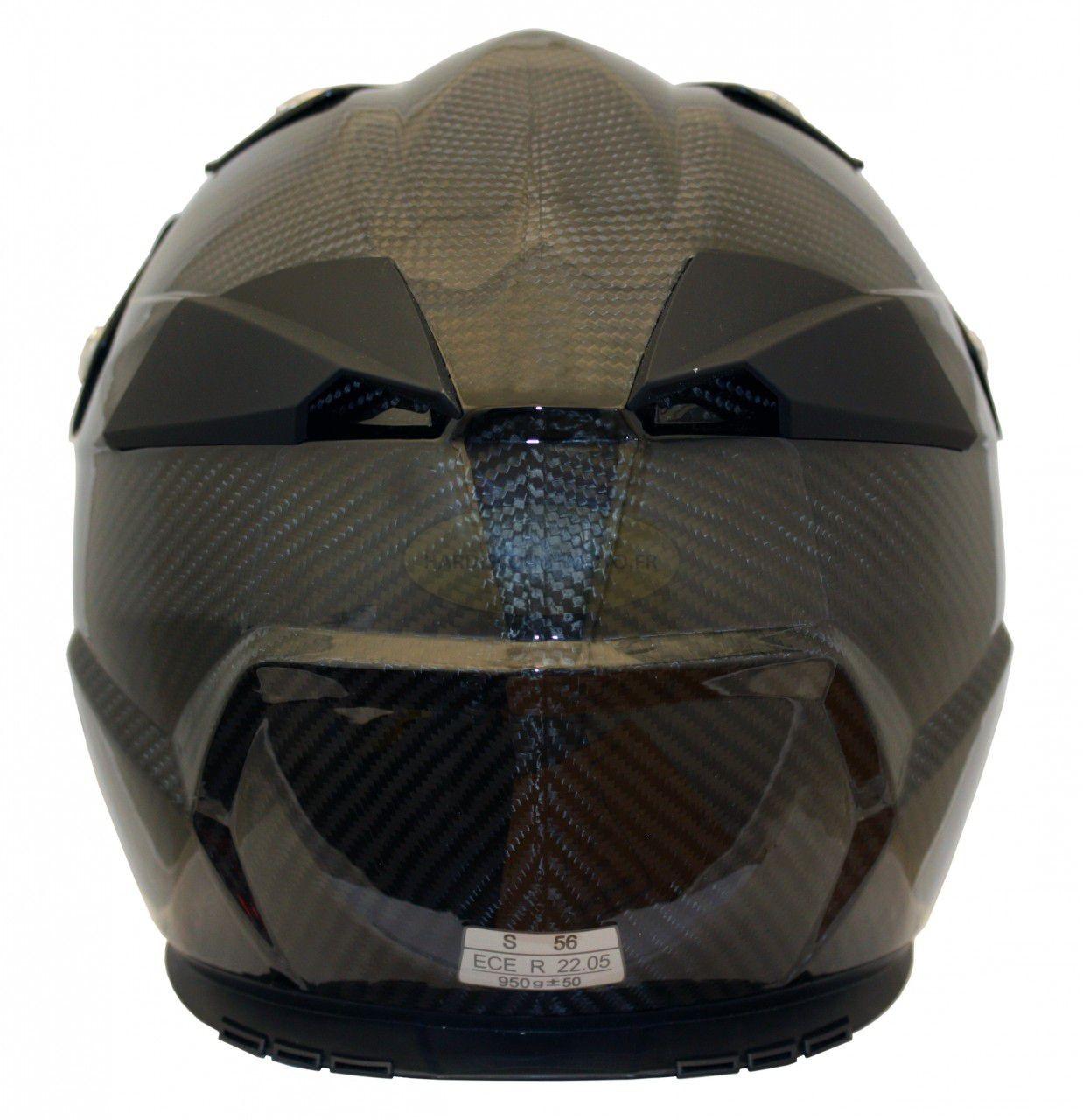 Casque Moto Cross S810 Carbone - Image 3