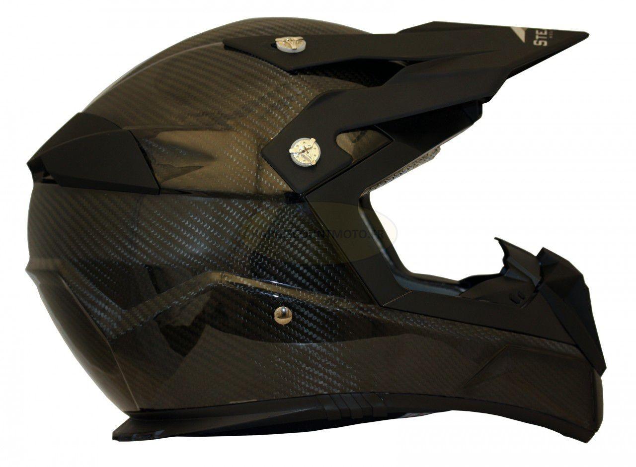 Casque Moto Cross S810 Carbone - Image 4