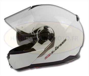 Casque moto modulable Summit IV S501 Blanc motobigstore